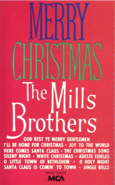 The Mills Brothers Merry Christmas cover art