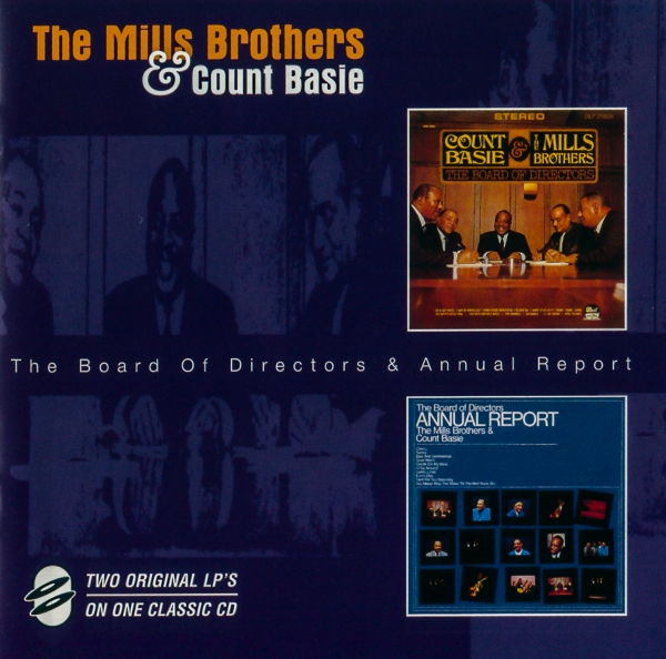 Count Basie & The Mills Brothers The Board of Directors Annual Report Cover Art