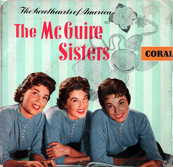 McGuire Sisters The Sweethearts of America Cover Art