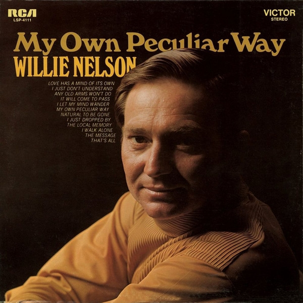 Willie Nelson My Own Peculiar Way cover art