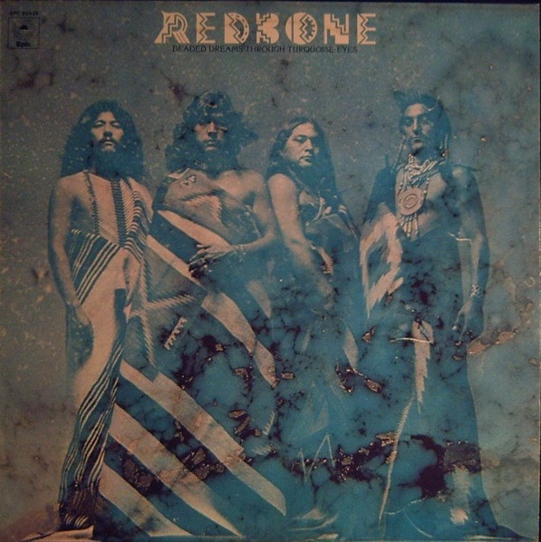 Redbone Beaded Dreams Through Turquoise Eyes Cover Art