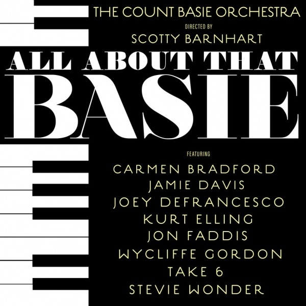 Carmen Bradford All About That Basie cover art