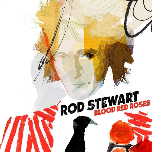 Rod Stewart Blood Red Roses Cover Art
