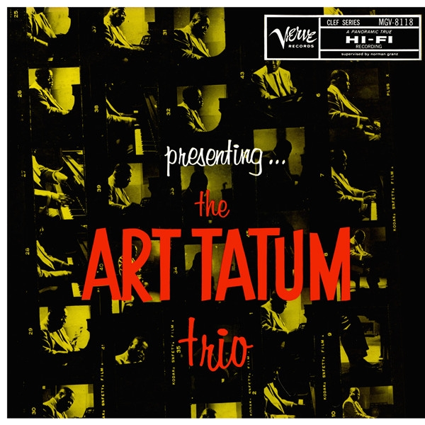 Art Tatum Trio Presenting... The Art Tatum Trio Cover Art