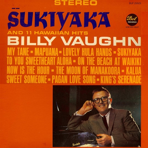 Billy Vaughn Sukiyaka cover art