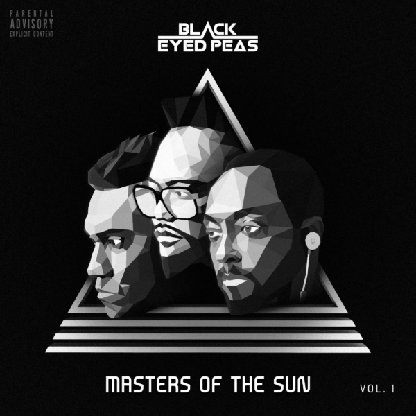 The Black Eyed Peas MASTERS OF THE SUN, VOL. 1 cover art