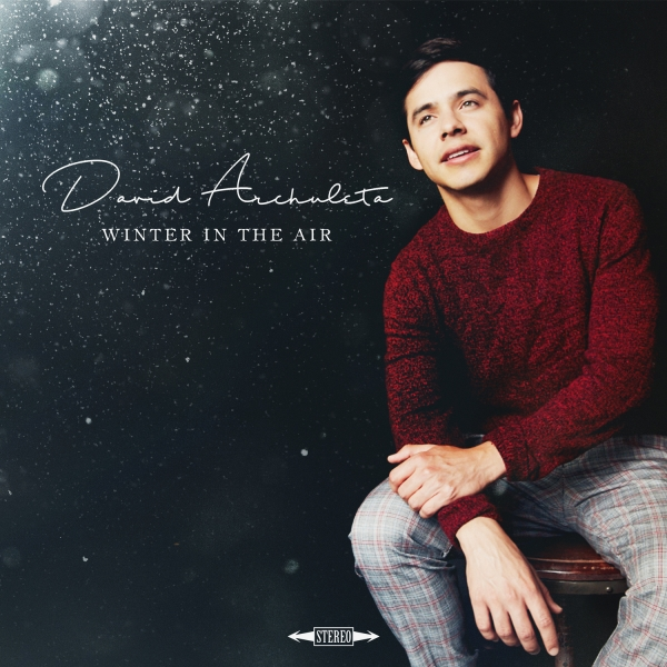 David Archuleta Winter in the Air cover art