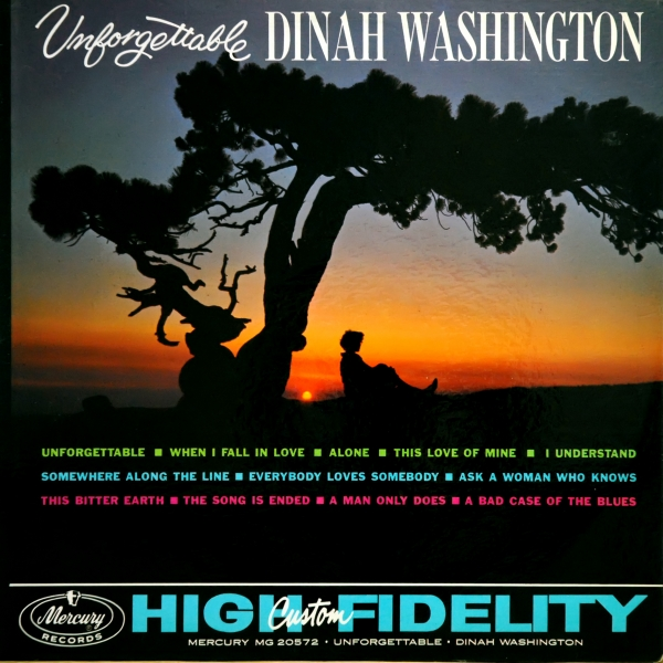 Dinah Washington Unforgettable cover art