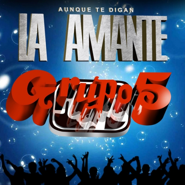 Grupo 5 La amante Cover Art