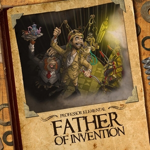 Professor Elemental Father of Invention Cover Art