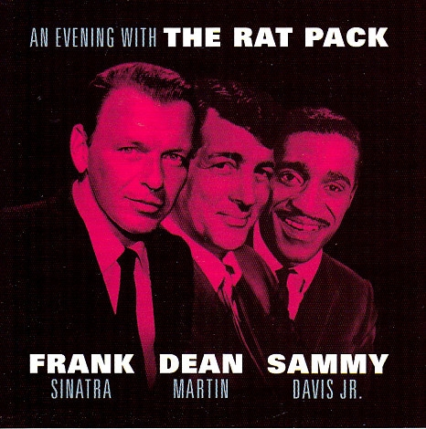 Dean Martin An Evening With The Rat Pack cover art