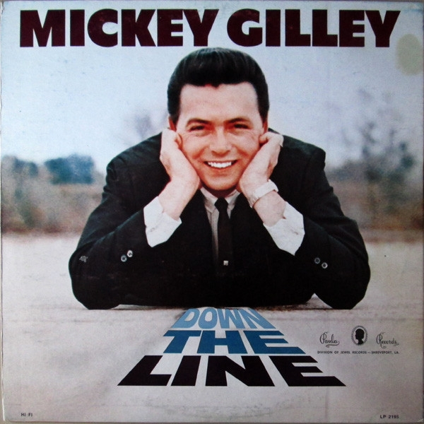 Mickey Gilley Down The Line cover art
