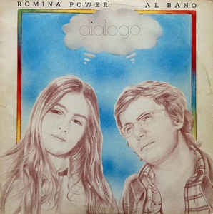 Romina Power Al Bano Arena blanca mar azul Cover Art