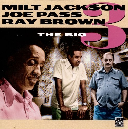 Ray Brown The Big 3 cover art