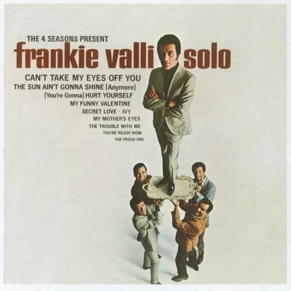 Frankie Valli The 4 Seasons Present Frankie Valli Solo Cover Art