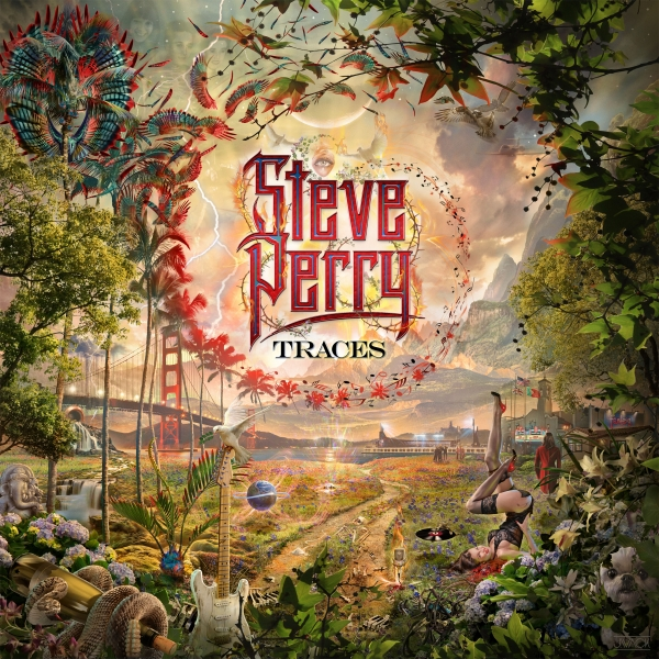 Steve Perry Traces cover art