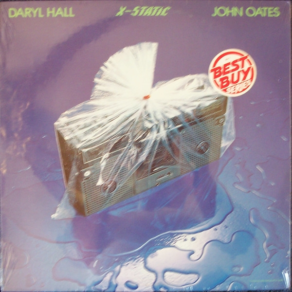 Hall & Oates X-Static cover art