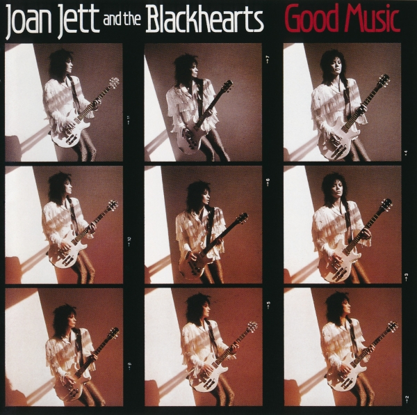 Joan Jett and the Blackhearts Good Music Cover Art