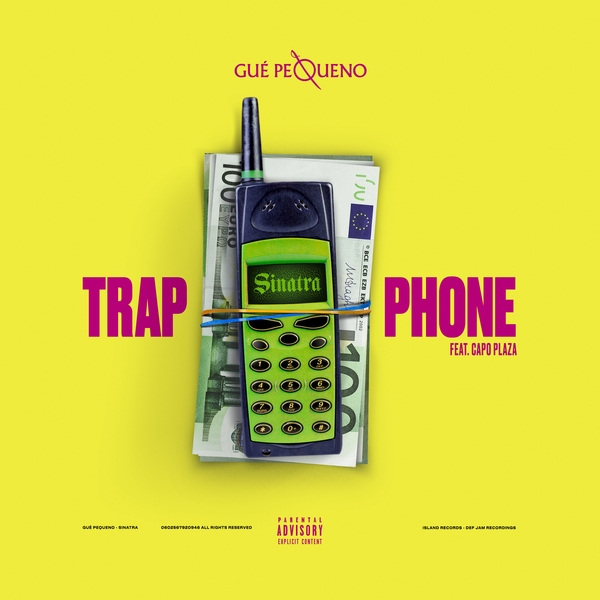 Capo Plaza Trap Phone cover art