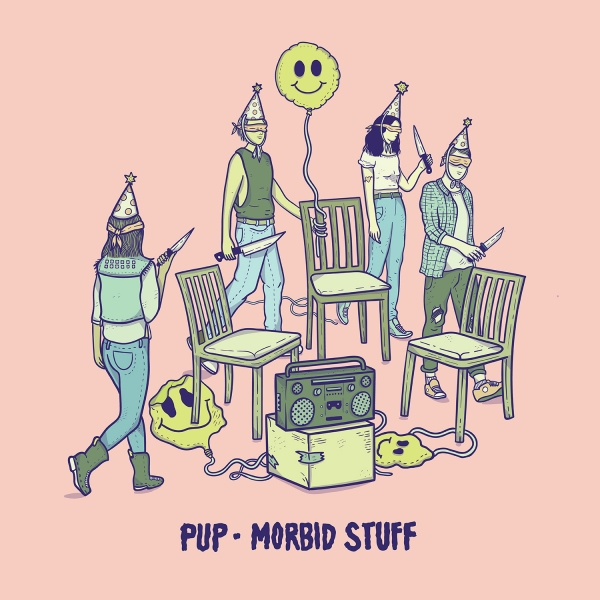 PUP Morbid Stuff cover art