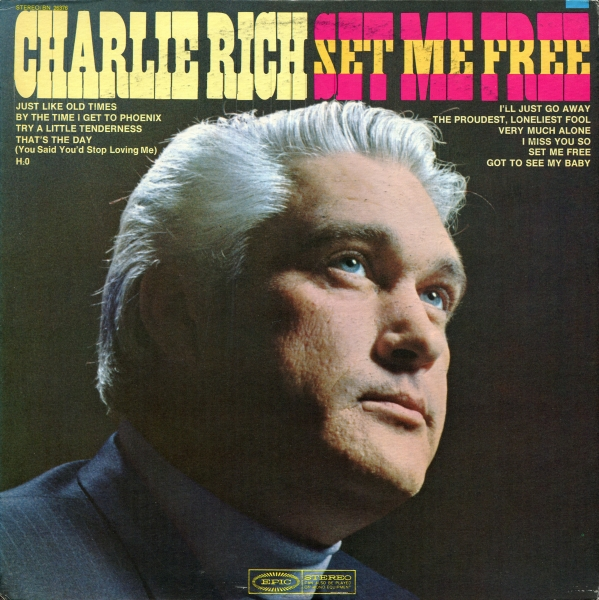 Charlie Rich Set Me Free Cover Art