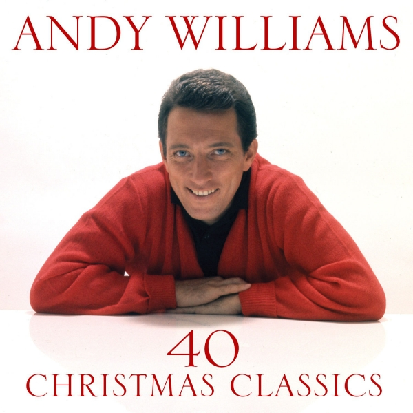 Andy Williams 40 Christmas Classics Cover Art