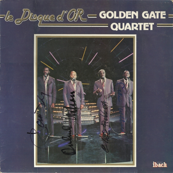 The Golden Gate Quartet Le Disque D'Or cover art