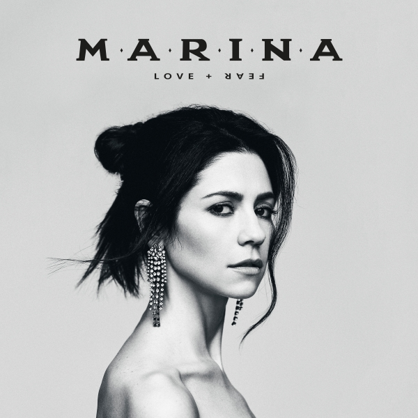 MARINA LOVE + FEAR cover art