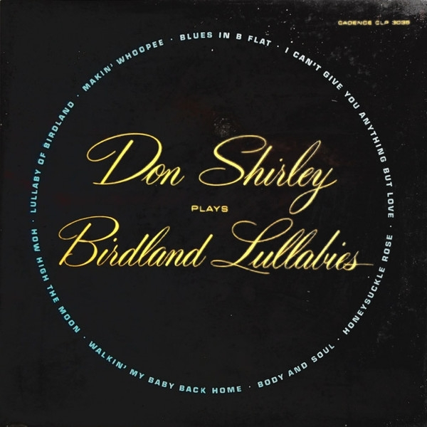 Don Shirley Don Shirley Plays Birdland Lullabies Cover Art