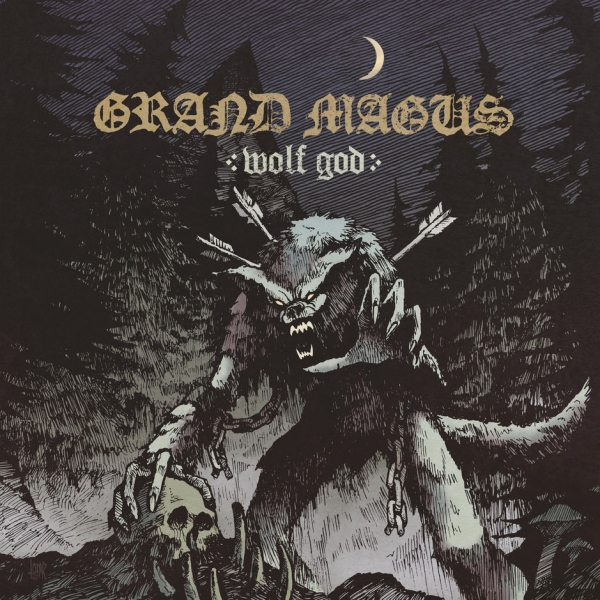 Grand Magus Wolf God Cover Art