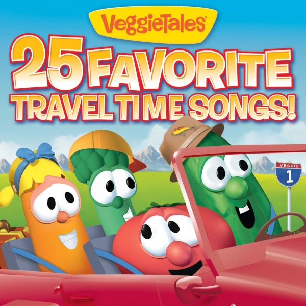 VeggieTales 25 Favorite Travel Time Songs! cover art