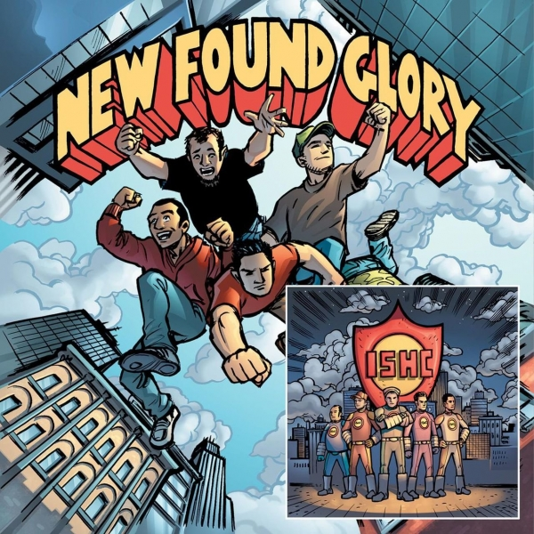 New Found Glory & International Superheroes of Hardcore Tip Of The Iceberg & Takin' It Ova! Cover Art