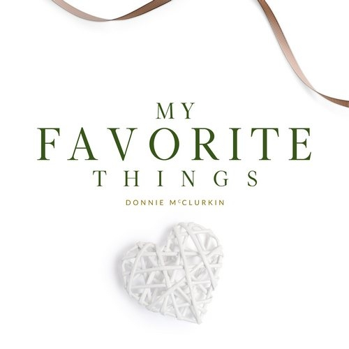 Donnie McClurkin My Favorite Things Cover Art