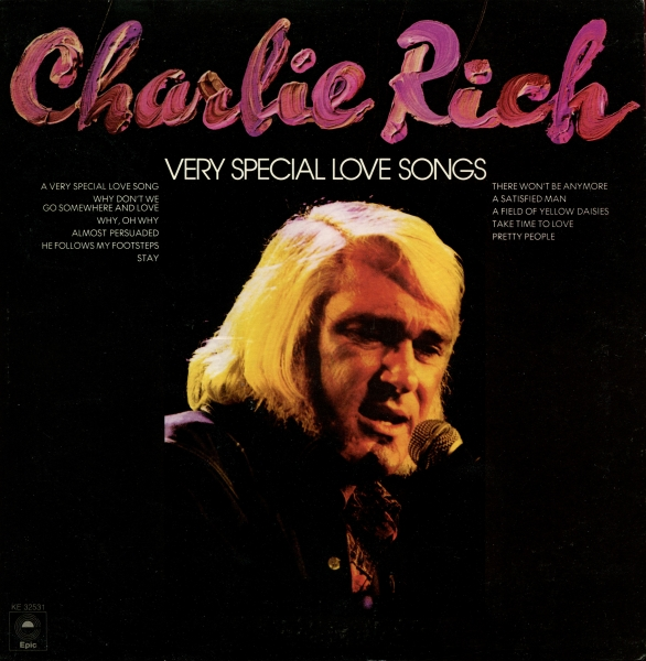 Charlie Rich Very Special Love Songs Cover Art