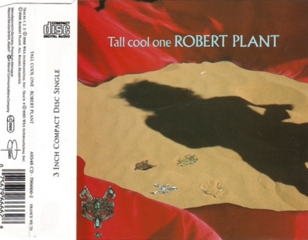 Robert Plant Tall Cool One Cover Art