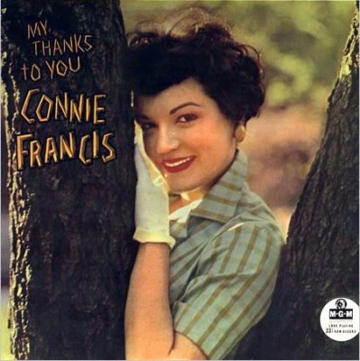 Connie Francis My Thanks To You Cover Art