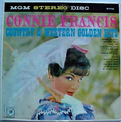Connie Francis Country & Western Golden Hits Cover Art