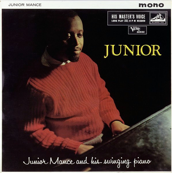 Junior Mance And His Swinging Piano Junior Cover Art