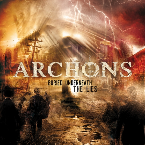 Archons Buried Underneath the Lies Cover Art