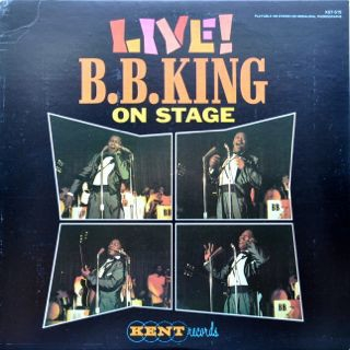 B.B. King On Stage Live Cover Art