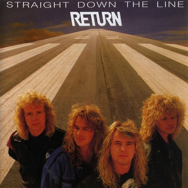 Return Straight Down the Line Cover Art