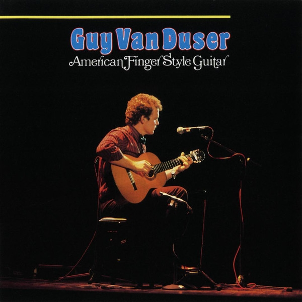 Guy Van Duser American Finger Style Guitar cover art