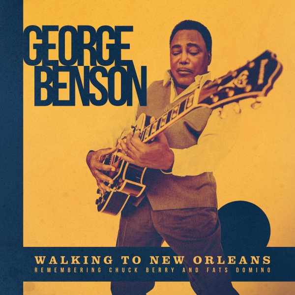 George Benson Walking to New Orleans cover art