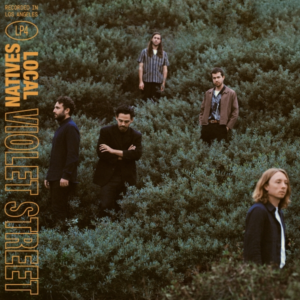 Local Natives Violet Street cover art