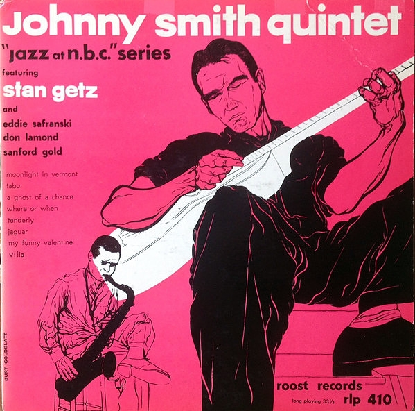 Johnny Smith Quintet Jazz at NBC Cover Art