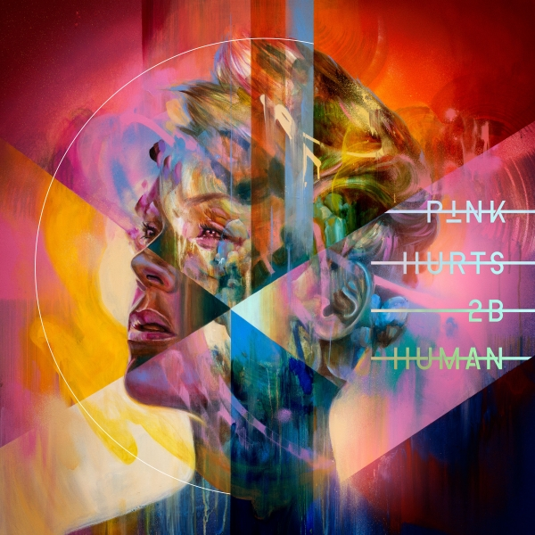 P!nk Hurts 2B Human cover art