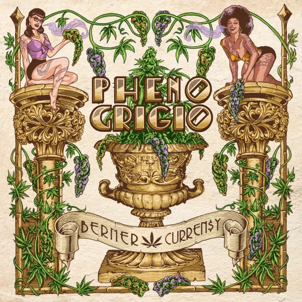Berner & Curren$y Pheno Grigio Cover Art