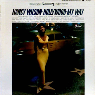 Nancy Wilson Hollywood – My Way Cover Art