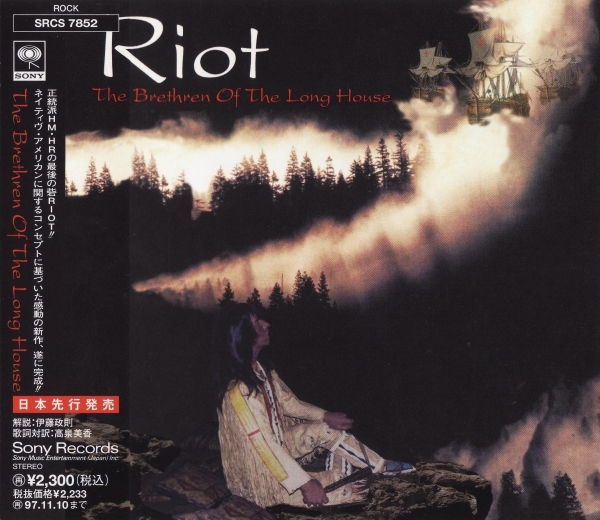 Riot The Brethren of the Long House Cover Art