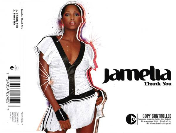 Jamelia Thank You Cover Art